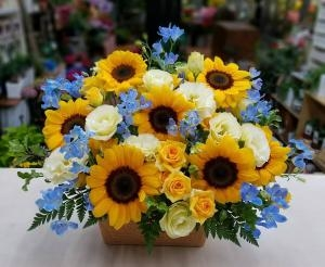 父の日の花贈り